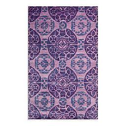 Safavieh Wyndham Irina Hand-Tufted Wool Rug in Purple