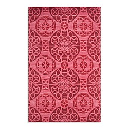 Safavieh Wyndham Irina Hand-Tufted Wool Rug in Red