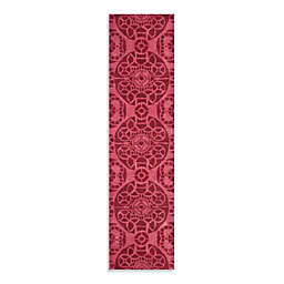 Safavieh Wyndham Irina 2-Foot 3-Inch x 9-Foot Hand-Tufted Wool Runner in Red