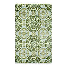 Safavieh Wyndham Irina Hand-Tufted Wool Rug in Turquoise/Green