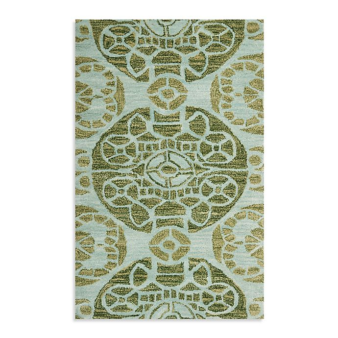 Alternate image 1 for Safavieh Irina 2'6 x 4' Accent Rug in Turqouise/Green
