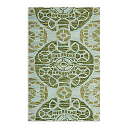 Safavieh Irina 2'6 x 4' Accent Rug in Turqouise/Green