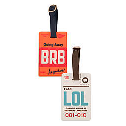 Flight 001 Cyber Luggage Tag