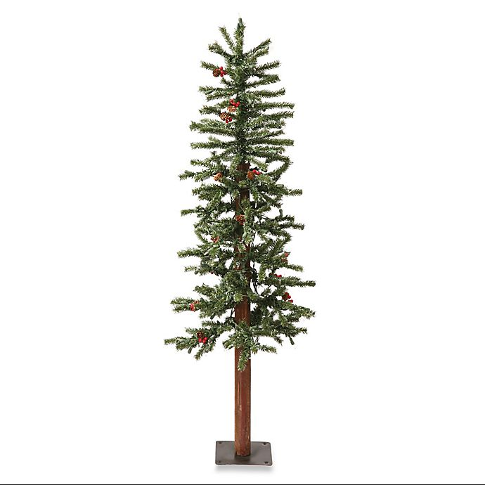 3 Pre Lit Christmas Tree.Vickerman 3 Foot Frosted Alpine Berry Pre Lit Christmas Tree