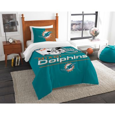 Nfl Miami Dolphins Draft Comforter Set, Miami Dolphins Crib Bedding Sets