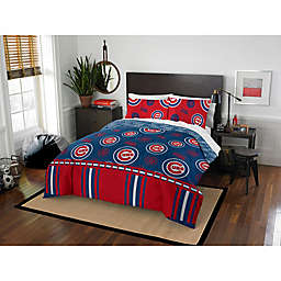 MLB Chicago Cubs Bed in a Bag Comforter Set