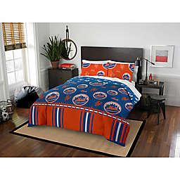 MLB New York Mets Bed in a Bag Comforter Set
