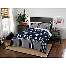 MLB New York Yankees Bed in a Bag Comforter Set