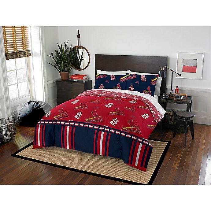 Mlb St Louis Cardinals Bed In A Bag Comforter Set Bed Bath Beyond