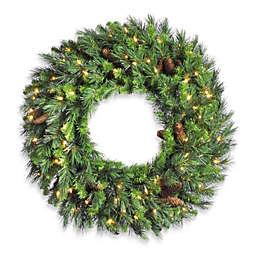 Vickerman 30-Inch Cheyenne Pine Wreath