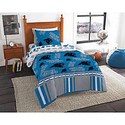 NFL Carolina Panthers Bed in a Bag Comforter Set