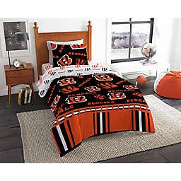 NFL Cincinnati Bengals Bed in a Bag Comforter Set