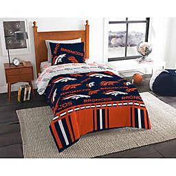NFL Denver Broncos Bed in a Bag Comforter Set