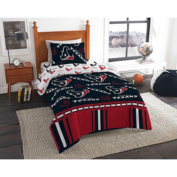 Nfl Houston Texans Bed In A Bag Comforter Set Bed Bath Beyond