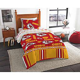 NFL Kansas City Chiefs Bed in a Bag Comforter Set