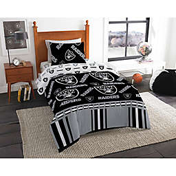 NFL Las Vegas Raiders  Bed in a Bag Comforter Set