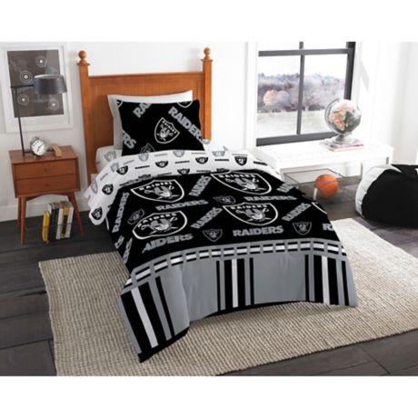 Nfl Las Vegas Raiders Bed In A Bag, Oakland Raiders King Bedding