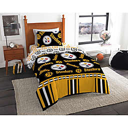 NFL Pittsburgh Steelers Bed in a Bag Comforter Set