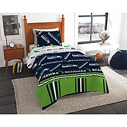 NFL Seattle Seahawks Bed in a Bag Comforter Set