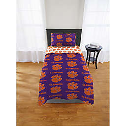 Clemson Tigers Bed in a Bag Comforter Set