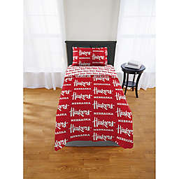 Nebraska Cornhuskers Bed in a Bag Comforter Set