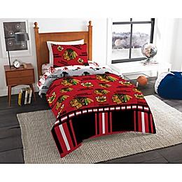 NHL Chicago Blackhawks Bed in a Bag Comforter Set