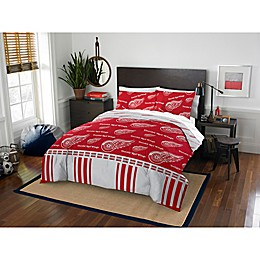 NHL Detroit Red Wings Bed in a Bag Comforter Set