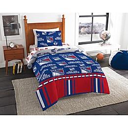 NHL New York Rangers Bed in a Bag Comforter Set