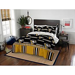 NHL Pittsburgh Penguins Bed in a Bag Comforter Set