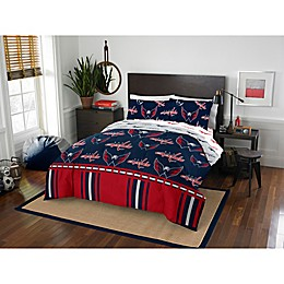 NHL Washington Capitals Bed in a Bag Comforter Set