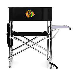 NHL Chicago Blackhawks Sports Chair in Black