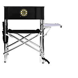 NHL Boston Bruins Sports Chair in Black