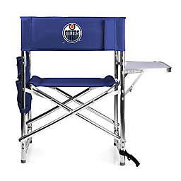 NHL Edmonton Oilers Sports Chair in Navy