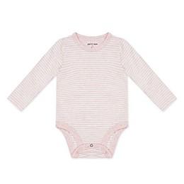 petit lem Pink Stripe Bodysuit