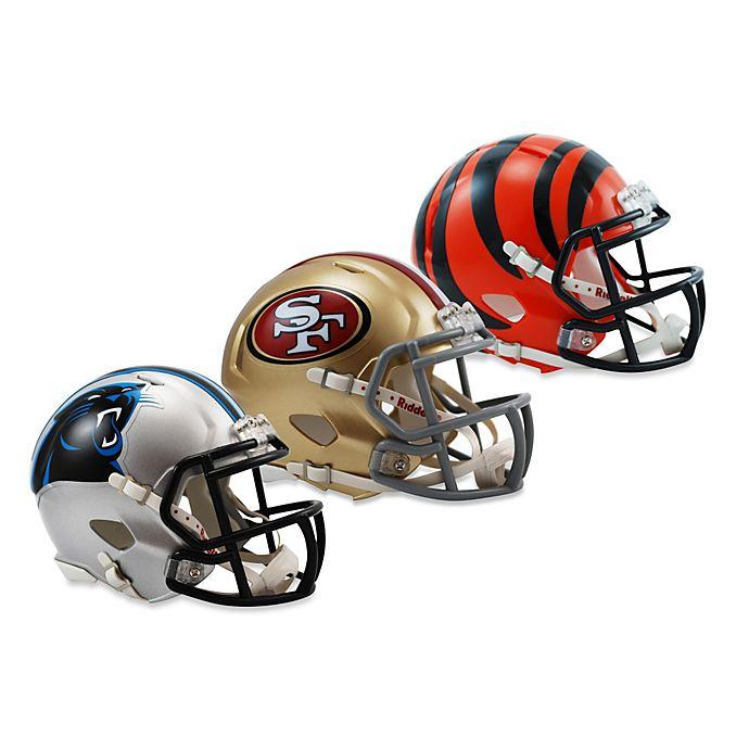 266b03411 Riddell® NFL Speed Mini Football Helmet Collection
