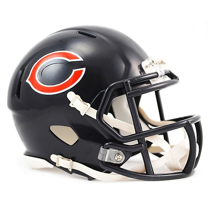7440a08195f Riddell® NFL Chicago Bears Speed Mini Helmet | Bed Bath & Beyond