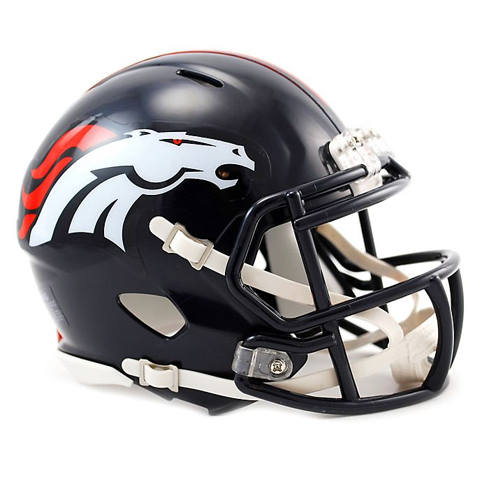 Alternate image 1 for Riddell® NFL Denver Brocnos Speed Mini Helmet