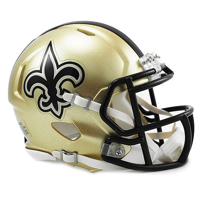 220493fbf04 Riddell® NFL New Orleans Saints Speed Mini Helmet
