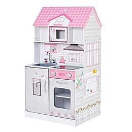 Wonderland 2-in-1 Doll House & Play Kitchen