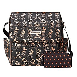Petunia Pickle Bottom® Metallic Mickey Mouse Boxy Diaper Backpack