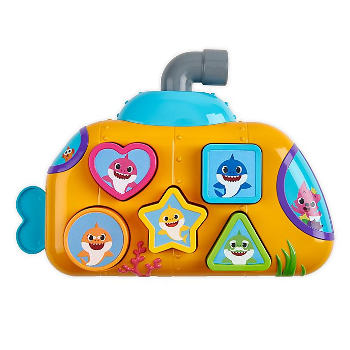 Alternate image 1 for Pinkfong Baby Shark Melody Shape Sorter