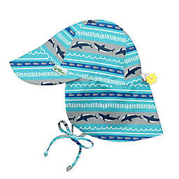 i play.® by green sprouts® Shark Flap Sun Protection Hat in Aqua
