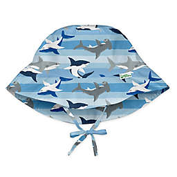 i play.® by green sprouts® Shark Bucket Sun Protection Hat in Blue