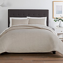 Washed Twill 3-Piece Comforter Set