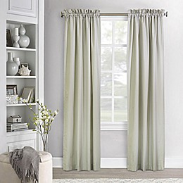 Commonwealth Home Fashions Ticking Stripe Window Curtain Panel Pair
