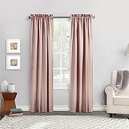 Commonwealth Home Fashions Ticking Stripe Window Curtain Panel Pair