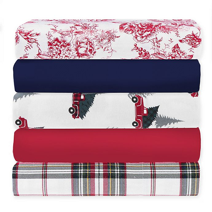 Alternate image 1 for Bee & Willow™ Home Flannel Sheet Collection