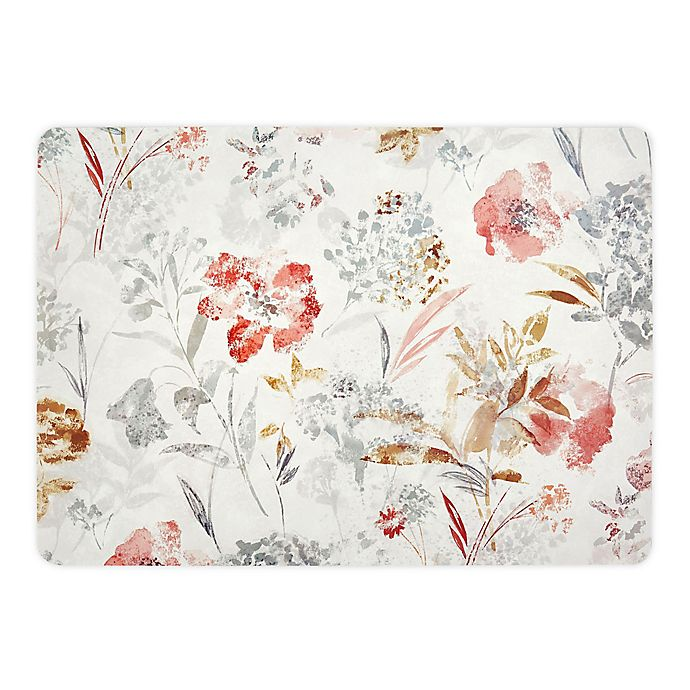 Alternate image 1 for Floral Fields Laminated Placemats in Natural