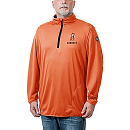 Oklahoma State University Flow Q-Zip Jacket in Black
