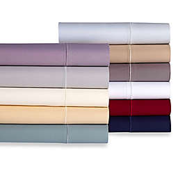Wamsutta® 500-Thread-Count Pima  Twin XL Sheet Set in Burgundy